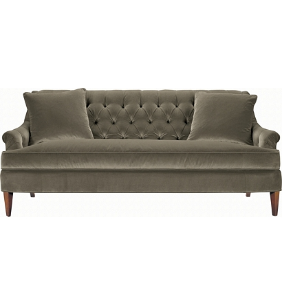 Pintuck Sofa Best 25 Tufted Sofa Ideas On Pinterest Couch