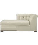 Kent Tufted Left-Arm Facing Chaise