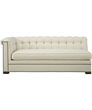 Kent  M2M® Made To Measure Tufted Left-Arm Facing Sofa