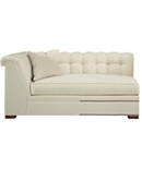 Kent  M2M® Made To Measure Tufted Left-Arm Facing Corner Armless Sofa