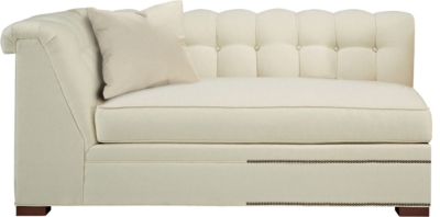 Delicieux Kent Made To Measure Tufted Left Arm Facing Corner Armless Sofa