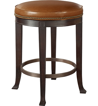 newbury swivel backless counter stool from the 1911 collection