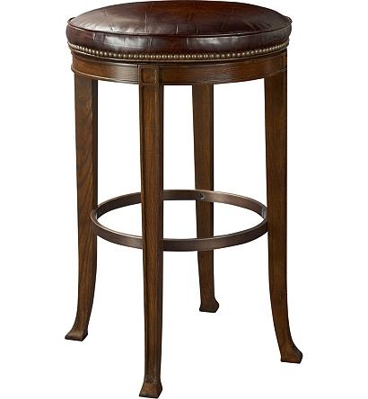 Super Newbury Swivel Backless Bar Stool From The 1911 Collection Inzonedesignstudio Interior Chair Design Inzonedesignstudiocom