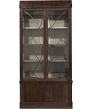 Artisan 2-Door Ash Grand Cabinet with Glass Doors