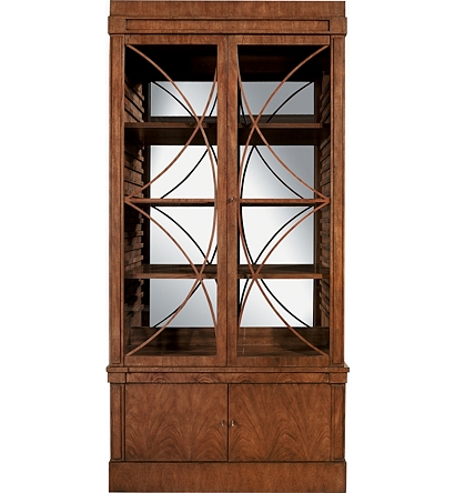 Miraculous Artisan 2 Door Mahogany Grand Cabinet W Glass Doors From The Theyellowbook Wood Chair Design Ideas Theyellowbookinfo