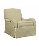 Emory Skirted Swivel Chair