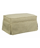 Emory Made To Measure Skirted Ottoman