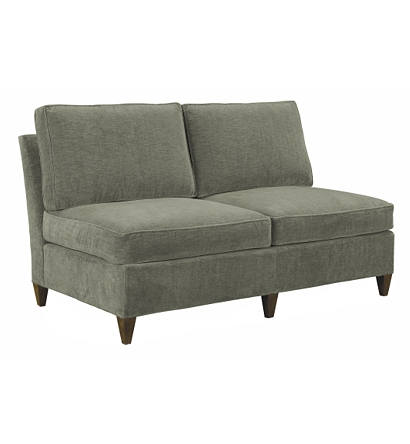 Leigh Armless Loveseat From The Suzanne Kasler Collection By Hickory Chair Furniture Co