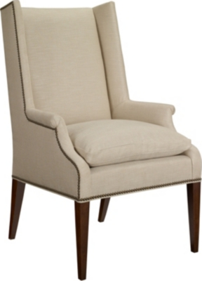 Delicieux Martin Host Chair With Loose Cushion And Arms   Ash