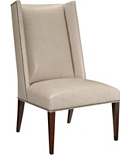 Martin Host Chair with Tight Seat w/out Arms - Mahogany