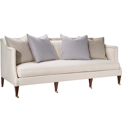 Hickory chair sofas sutton sofa from the upholstery for Sectional sofa hickory chair