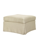 Virginia Skirted Ottoman