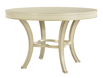 collier dining table top & base from the suzanne kasler