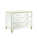Belvedere Chest with Mirrored Top & Base