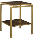 Montpelier Accent Table (Wood or Glass Top)
