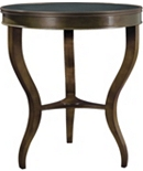 East Paces Side Table with Stone Top