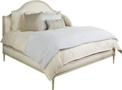 simone upholstered bed king