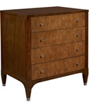 Artisan Small Four Drawer Chest - Mahogany