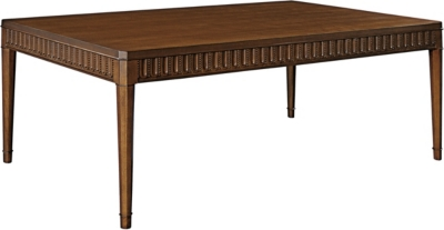 Slaton Wood Top Coffee Table