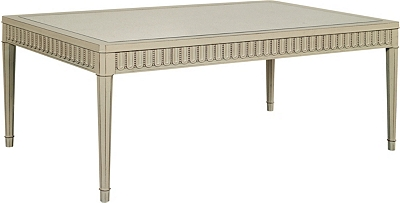 slaton antique mirror top coffee table from the suzanne kasler