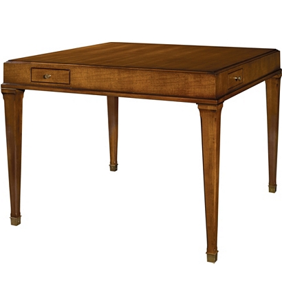 Terrific Julien Game Table From The Suzanne Kasler Collection By Machost Co Dining Chair Design Ideas Machostcouk