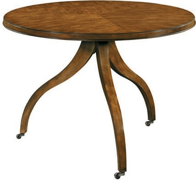 ingold center table base & top - mahogany from the 1911 collection