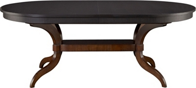 mercer dining table top & base from the james river collection by