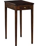 James River Side Table With Wood Top