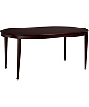 Boden Round Mahogany Dining Table