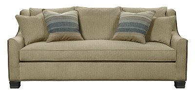 Sutton Sofa from the Upholstery collection by Hickory Chair
