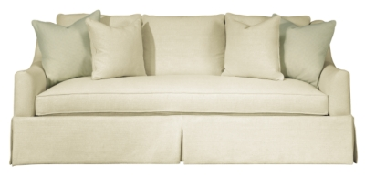 Awesome Sutton Skirted Sofa