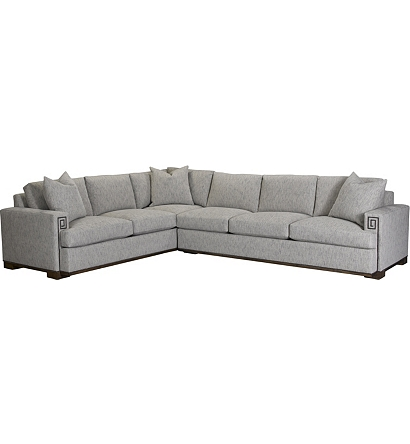 Mark Sectional from the David Phoenix® collection by Hickory ...