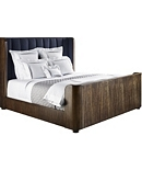 Laucala Channeled Upholstered Bed (King)