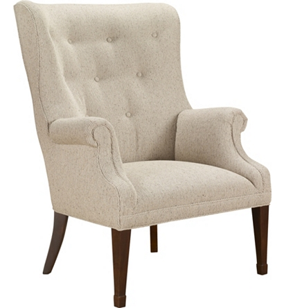 Isaac wing chair from the james river collection by hickory chair furniture co for Hickory chair bedroom furniture