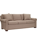Silhouettes Raised Panel Lawson Arm Sleep Sofa