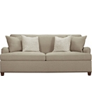 Silhouettes English Arm Sleep Sofa