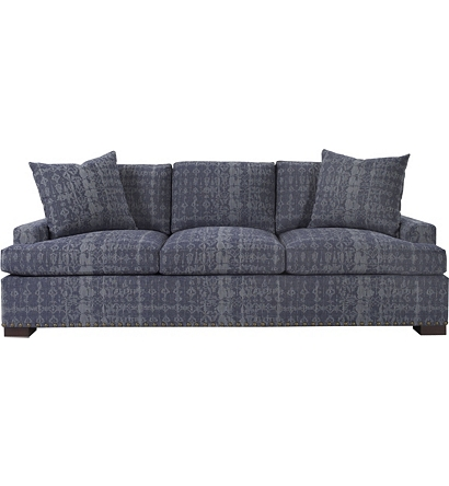 Silhouettes Made To Measure Wide Square Arm Sofa