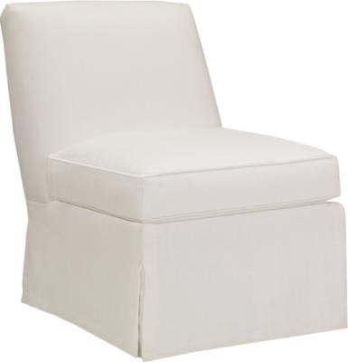 silhouettes armless chair