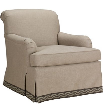 Colefax Swivel Glider Chair - Colefax Swivel Glider Chair From The Upholstery Collection By
