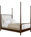 Tompkins Queen Bed with Upholstered Headboard and Footboard