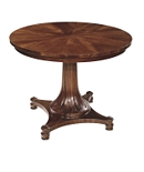 Round Dining Table Top & Base