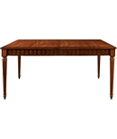 Gustav Rectangular Table with Figure Eight Apron