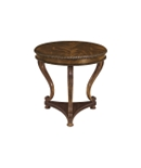 Round Regency Lamp Table