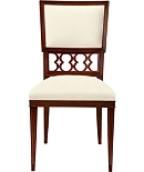 Ilsa Side Chair with Figure-Eight Panel
