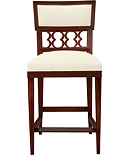 Ilsa Counter Stool (Figure-Eight Panel)