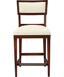 Ilsa Counter Stool with Open Panel