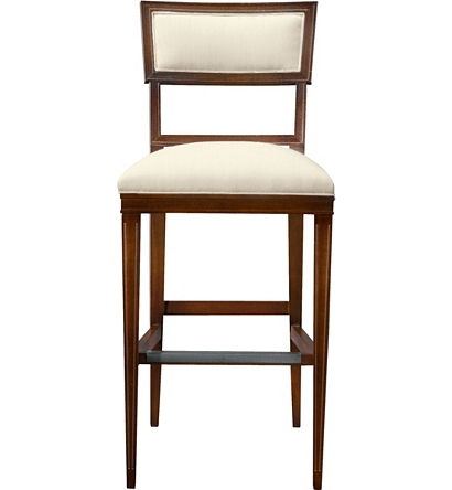 Ilsa Bar Stool Open Panel From The Alexa Hampton Collection By Hickory Cha