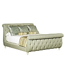 Somerset Queen Bed with Footboard (5/0 Queen)