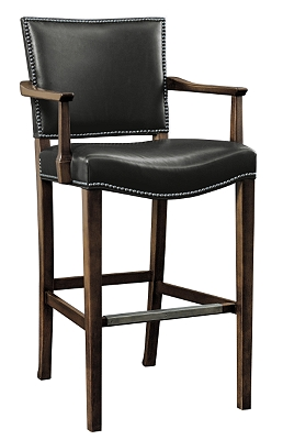 Madigan Bar Stool From The Archive Collection By Hickory