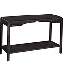 Poppy Console with Wood Top
